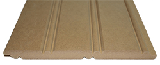 Premium American Beadboard panel a cut above the rest. made from premium mdf and is 5/8 inches thick by 8 inches wide by 38.125 inches tall