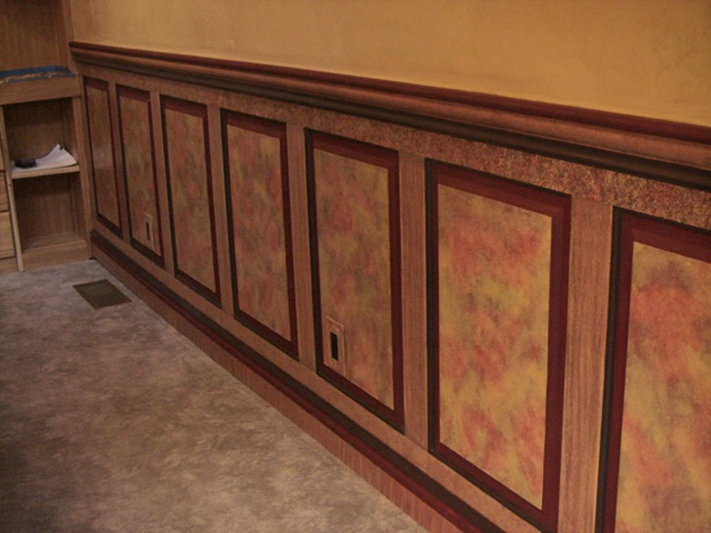 Wainscoting project ideas for your home for Project home designs