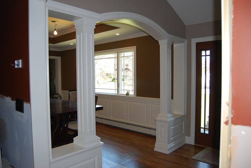 Wainscoting Classic Raised Panel In A Dining Room Oakdale Long Island New York