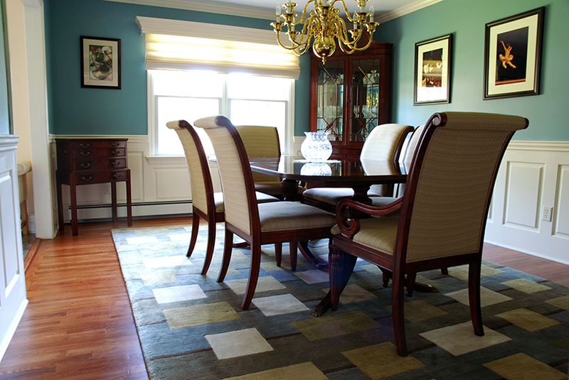 Wainscoting Classic Raised Panel In A Dining Room Fairfield NJ Ideas By