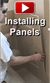 Wainscoting Panel Installation Video