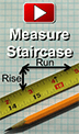 How to measure staircase for Wainscoting Panels