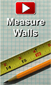 How to measure standard walls for Wainscoting Panels
