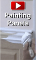 How to Paint Wainscoting Panels video