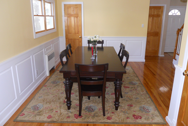 Classic Raised Panel Dining Room In Glen Head Long Island NY This Wainscot